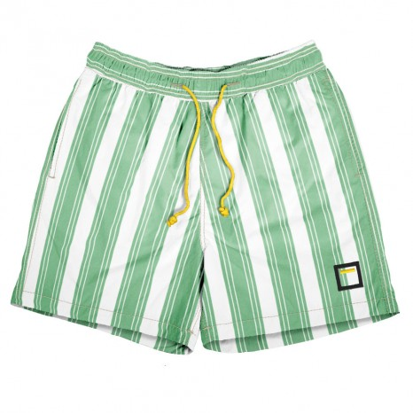 Barcode Green with yellow cord