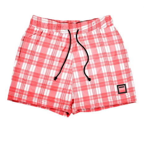 Gingham Washed con cordón negro