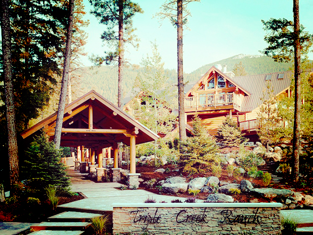 Set Among The Pines Near Trer Pike Highest Mountain In Western Montana This Idyllic Refuge Is A Small Resort With 30 Wooden Rooms And
